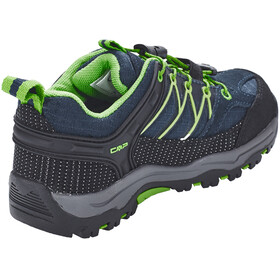 CMP Campagnolo Kids Rigel Low WP Trekking Shoes Black Blue-Gecko